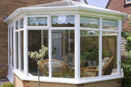 conservatory and roof